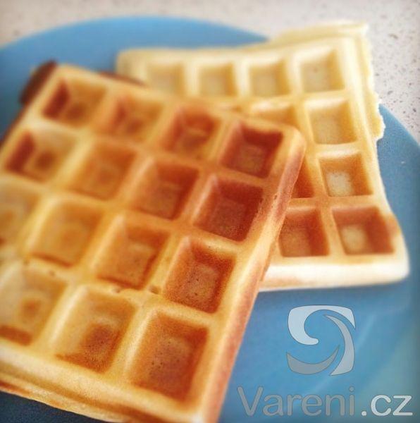 Recept Výborné vaflové těsto - wafličky