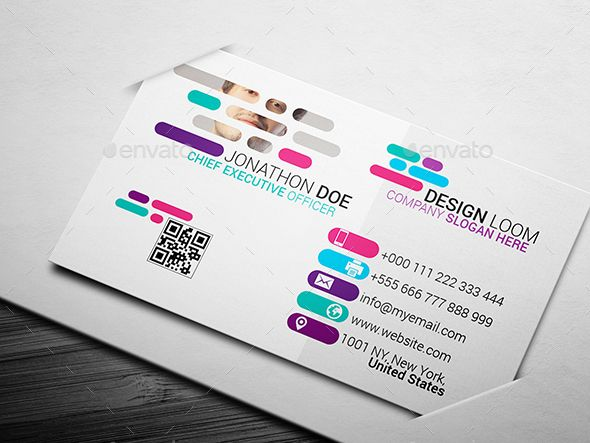 Creative Colorful Business Card Ad Colorful Ad Creative