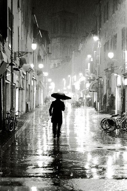 La lluvia. ¿Qué harían sin ella los fotógrafos y losrománticos?