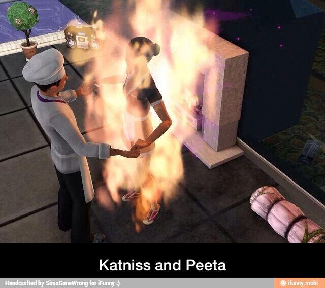 Sims glitches XD