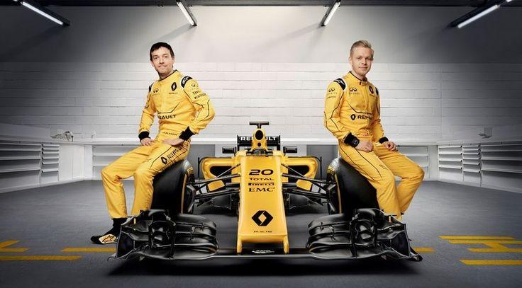 El Renault RS16 ya tiene decoración definitiva para la temporada F1 2016 - http://www.actualidadmotor.com/renault-rs16-decoracion-definitiva-temporada-f1-2016/