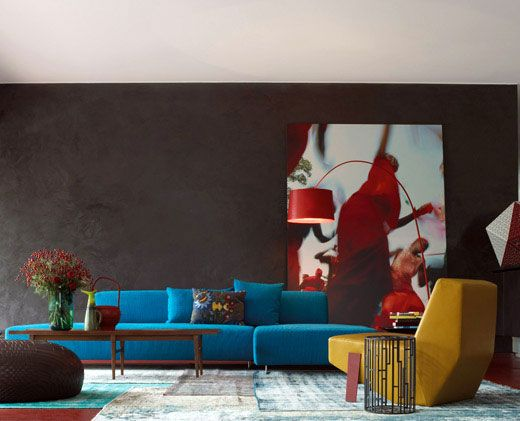 patrizia moroso home front room Patrizia Moroso's Home by Patricia Urquiola…
