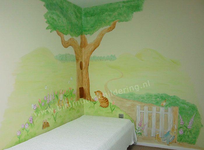Top 25 ideas about muurschilderingen murals for Muurtekeningen woonkamer