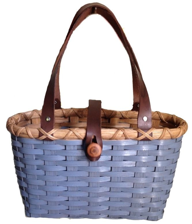February's Free Basket Weaving Pattern - the Purse Basket