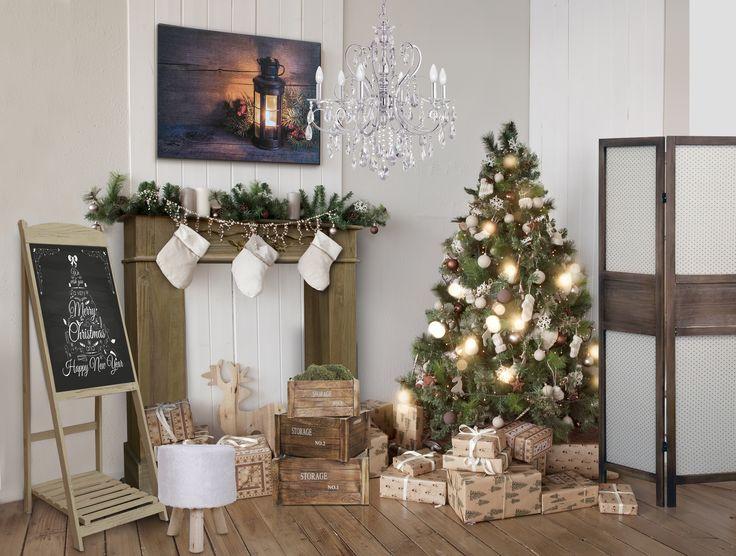 Oltre 1000 idee su legno bianco su pinterest case for Arredamento natalizio casa