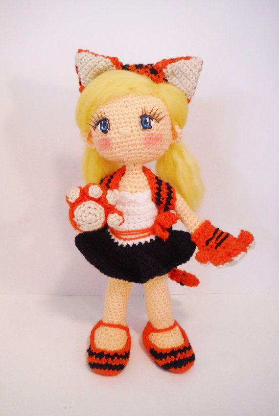 crochet PATTERN amigurumi doll witch. PDF Not by SiFerBe on Etsy