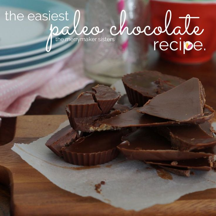 the easiest paleo chocolate recipe