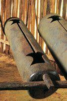El maguaré es un instrumento de percusión que utilizan los indígenas de la Amazonia para comunicarse a grandes distancias los principales ac...