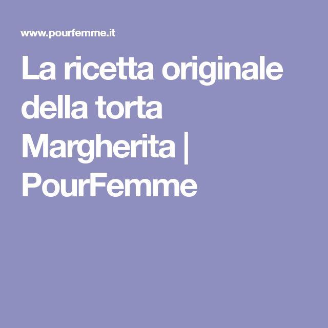 La ricetta originale della torta Margherita | PourFemme