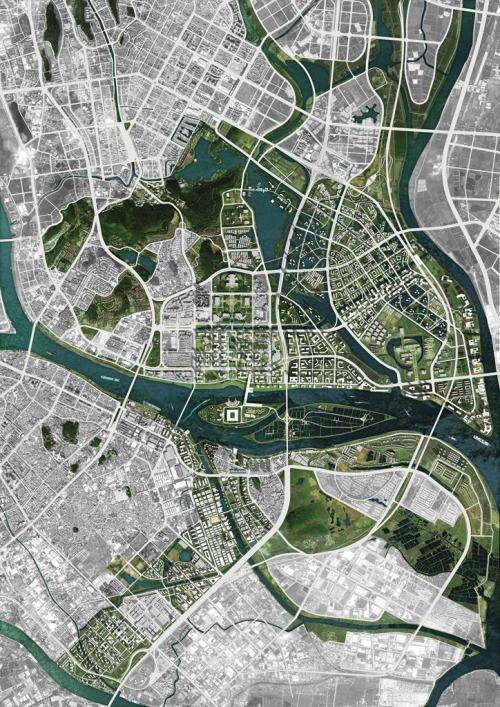 Shunde City: Master Plan   OMA Location: Shunde City, Guangdong, China