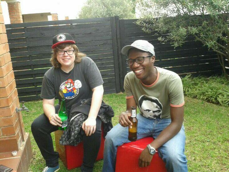 Sammy & JayVee good times my friend. #friends #brosky #beer #goodtimes