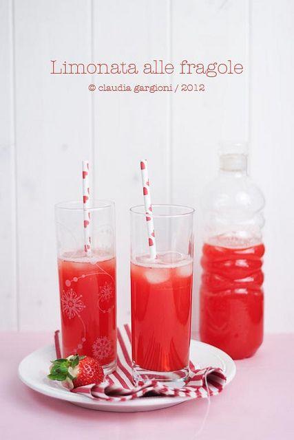 limonata di fragole, via Flickr.