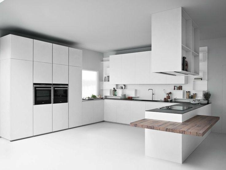 Line k cocina con península by zampieri cucine diseño stefano ...