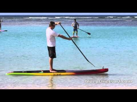 Introduction to Stand Up Paddling blueplanetsurf.