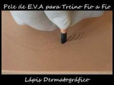 6D MICROBLADING technikos praktika ant netikros odos su meistre Alma Faizaite - YouTube