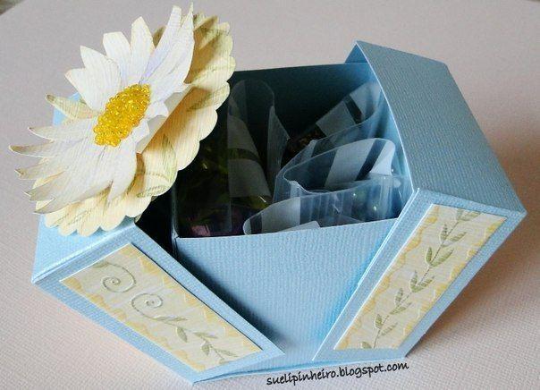 Коробочка для подарка - Шаблоны.Коробки.Упаковки .