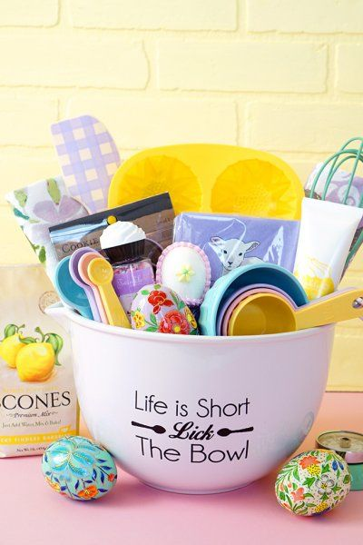 Easter Baking Gift Basket