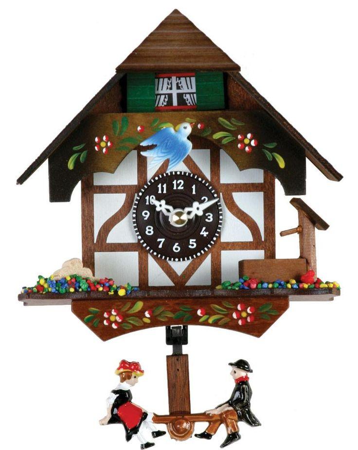 Quartz German Novelty Clock with Bird & Well 2070Q-06
