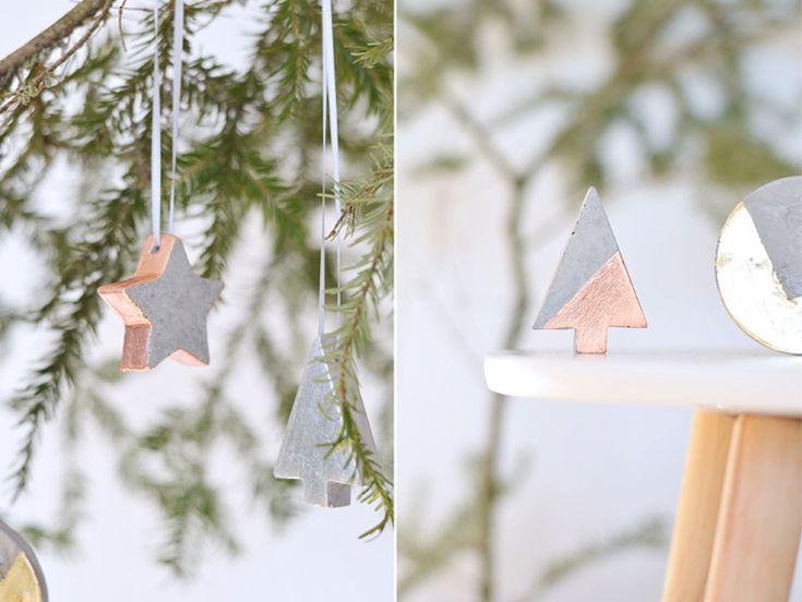17 best ideas about weihnachtsdeko aus beton on pinterest menorah diy xmas decoration and. Black Bedroom Furniture Sets. Home Design Ideas