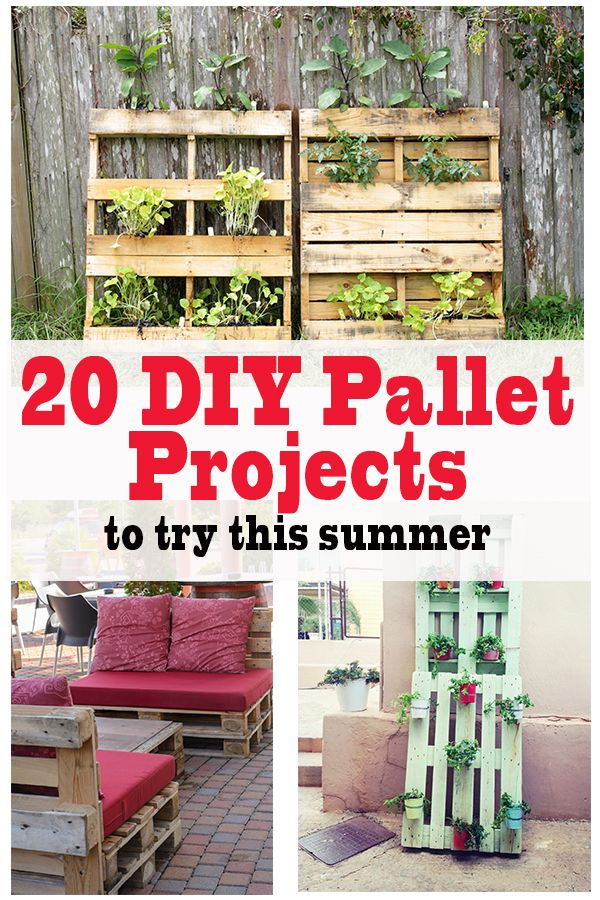 20 Easy As Heck DIY Pallet Projects | Mobili