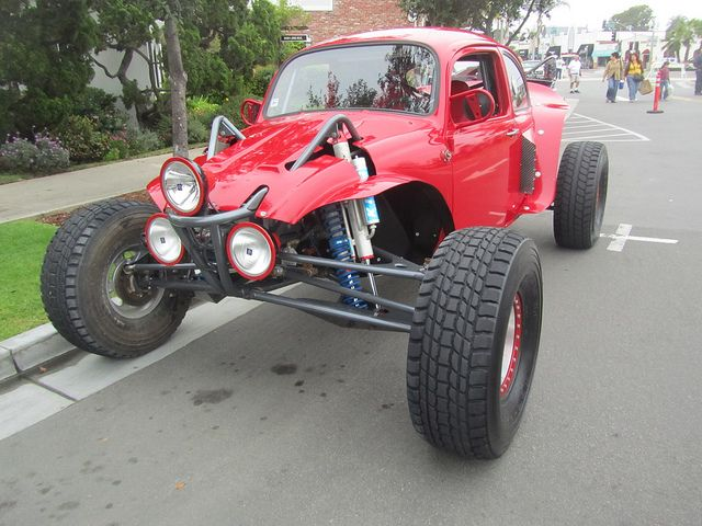 VW Beetle Off-Road  Baja Bug,   nice A-arm front end