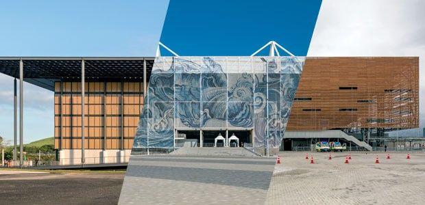 Centros esportivos da Olimpíada Rio 2016 apostam na arquitetura nômade Conheça estádios e arenas que, ao final do evento, serão modificados e incorporados à vida da cidade