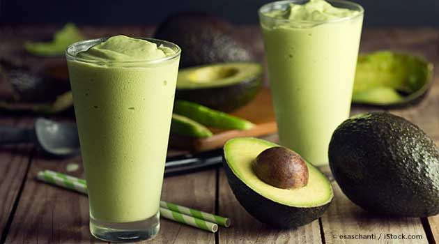 Avocados are low in fructose, rich in healthy monounsaturated fat, and research has confirmed its ability to benefit vascular function and heart health. http://recipes.mercola.com/avocado-smoothie-recipe.aspx