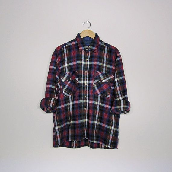 80s flannel shirts  Etsy