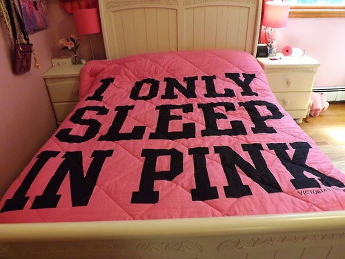 loving this pink bed find this pin and more on victoria secret bedroom