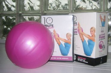 Rave Review: Quick Sculpt Pilates DVD with Toning Ball via @SparkPeople