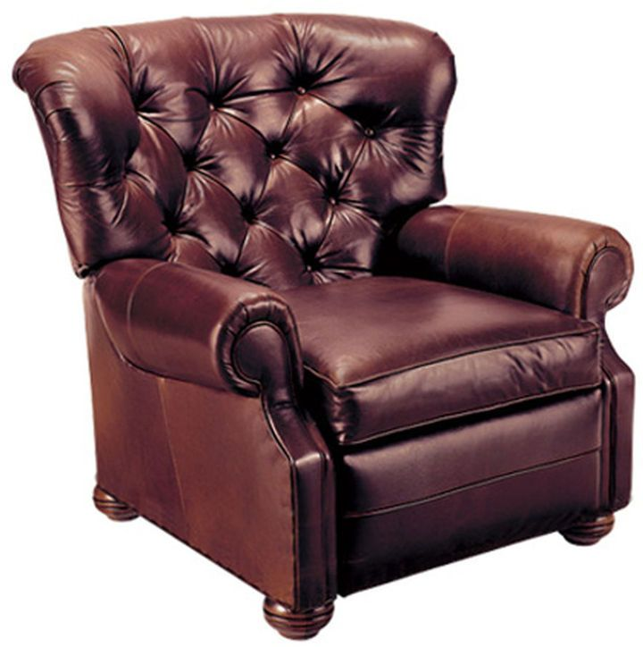 Ethan Allen Cromwell Leather Recliner Itu0027s