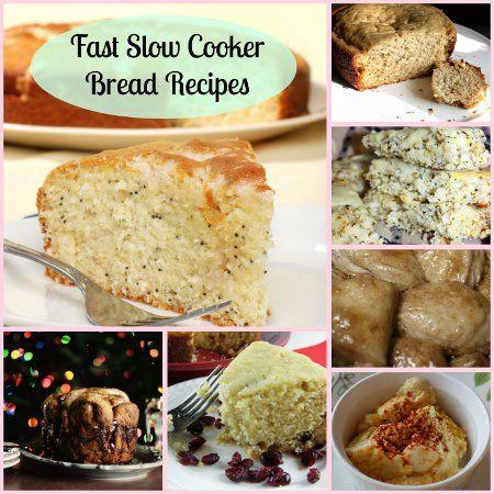 Fast Bread in a Slow Cooker: 16 Slow Cooker Bread Recipes + Bonus Recipes | AllFreeSlowCookerRecipes.com