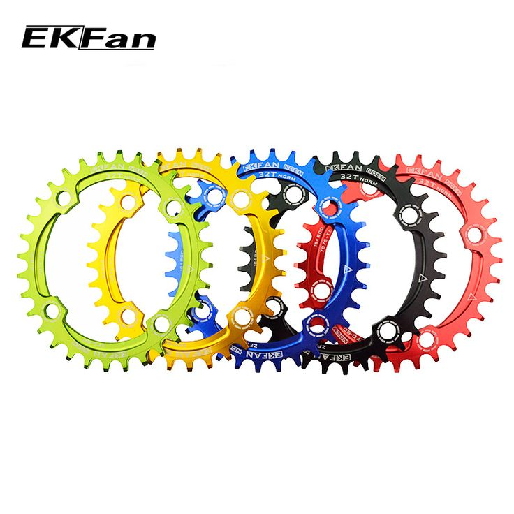 New EKFan 104BCD Bicycle Chainring 32T/34T/36T Narrow Wide Round Oval Cycle Chainwheel 7075-T6 MTB Bike Circle Crankset Plate //Price: $9.95 & FREE Shipping //     #hashtag1