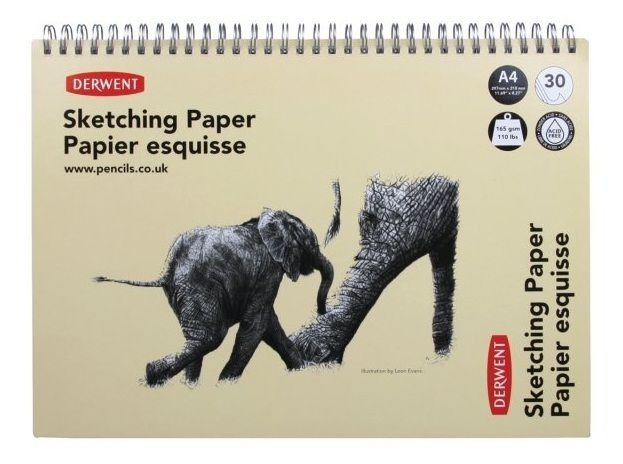 Derwent Sketchpad A4 30 Pages