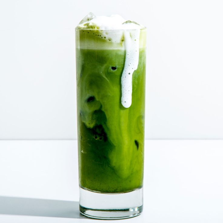 For a really bright green latte, use ceremonial grade matcha.