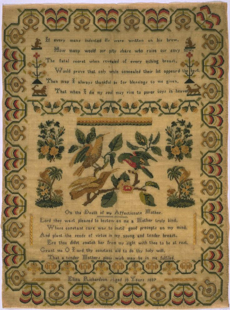 Best antique samplers images on pinterest embroidery