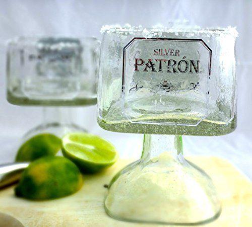 Patron Tequila Margarita Glass
