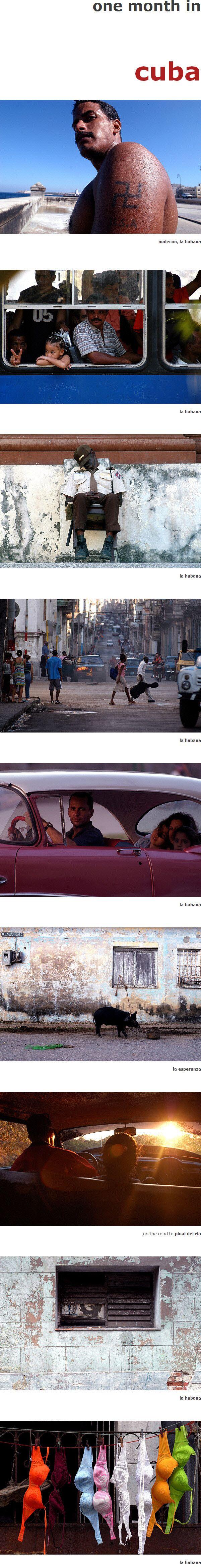 egy hónap Kubában