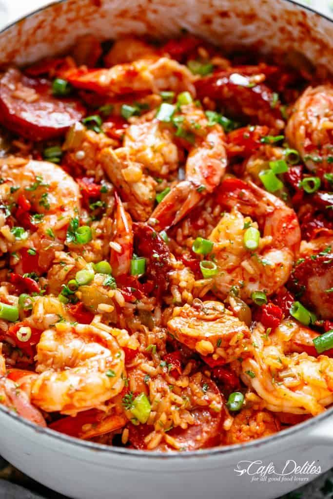 An Authentic Creole Jambalaya Recipe A Delicious One Pot Meal Coming To You From New Orleans Jambalaya Recipe Jambalaya Recipe Easy Jambalaya Recipe Crockpot