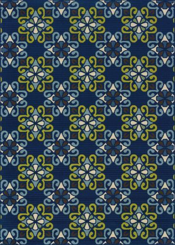 Caspian is a striking new #indoor or #outdoor collection in trend-forward shades of indigo and Mediterranean blue and bright lime green. Simple, sophisticated patterns come alive with tons of texture and pops of bright color. Find more Outdoor #Area #Rugs on: http://www.hfrugs.com/outdoor.html