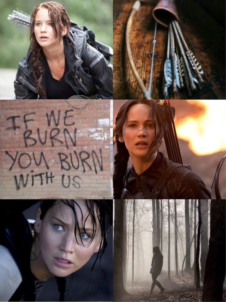 Katniss Everdeen / Jennifer Lawrence / The Hunger Games