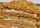 Торт медовый со сгущенкой - выпечка, которая тает во рту!