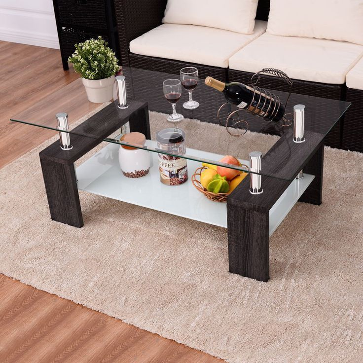 Pin On Glorious Glass Black glass living room furniture