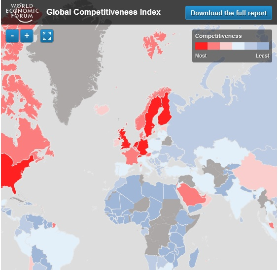 http://ow.ly/dvWjg - GLOBAL COMPETITVENESS INDEX 2012-13