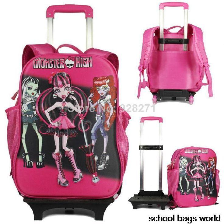 monster+high+backpacks+at+target+trolley | 3d monster hoge trolley school rugzakken voor meisjes jongens mochila ...