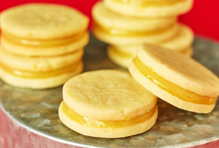 Recipe: Lemon Curd Sandwich Cookies — The Freezer Cookie Plate