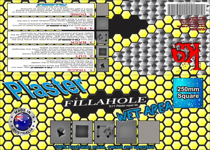 Your Fillahole® D.I.Y Plaster repair kit launches in 23 days!  WHY FILLAHOLE? BECAUSE FILLAHOLE FILLS IT!