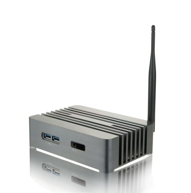 Abel H22 Intel NUC fanless case for a perfect silent PC.