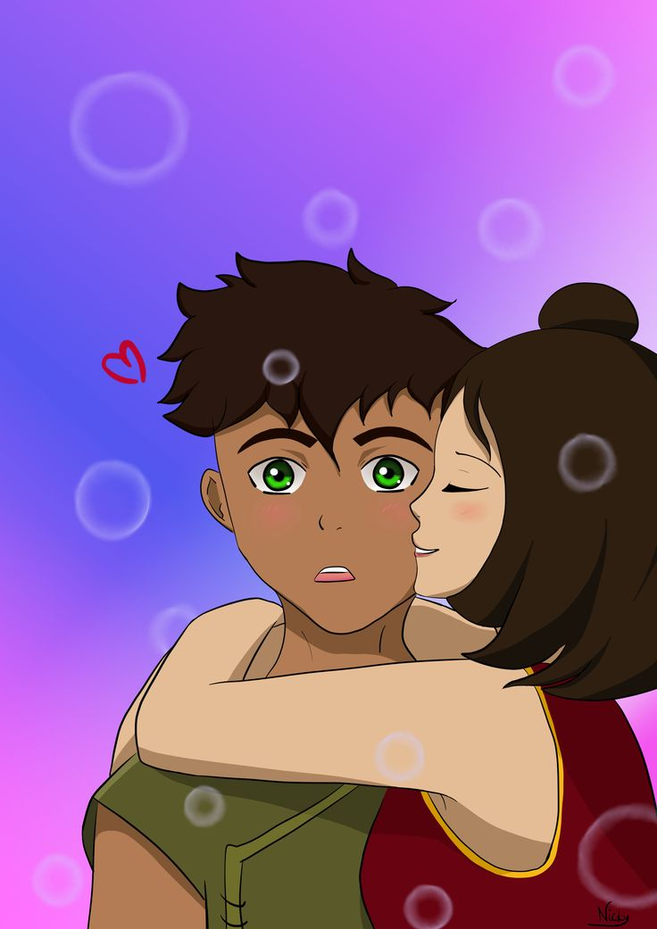 I love that couple! Kai and Jinora from Avatar: Legend of Korra<3 30.03.2018 r