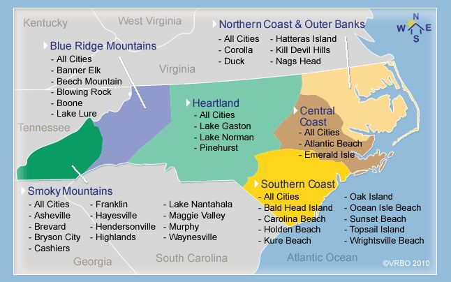 This site is great for any Carolinians or anyone that will be or is looking to travel to NC in the future for vacation. This site breaks down NC in regions and by vacation home rentals. So if you know where you would like to visit in NC, but you don't know exactly where you will be staying than maybe this site can help you find a place to rent for upcoming vacation!